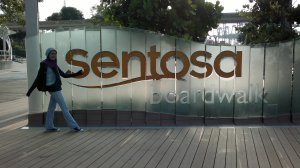 the Sentosa Island Boardwalk Empire :)