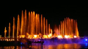 combination of fire and water performance on Songs of the Sea