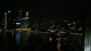 Singapore at night, at the top of the world :)