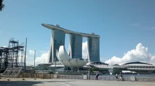 Marina Bay Sands and Art Science Museum, Singapore. nuff said.
